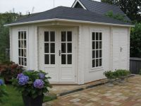 Standard and bespoke garden houses, Log cabins, Log Houses