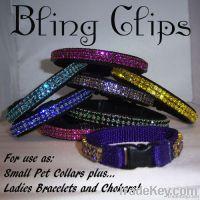 Bling Clips Pet Collar Bracelet Choker
