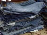 Used Imported Jeans In