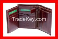 Leather Mens Wallets Bifold