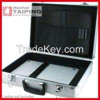 2015 fashion aluminum computer briefcase tool box