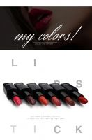 Cosmetics best waterproof lipstick tube for Long time use