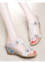 Causal wear for women Heels with color tops
