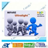 rfid card Mifare Desfire Card with 4K Bytes Chip and 13.56MHz Operatin
