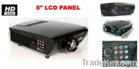 LCD projector with LED lamp with HDMI ready USB interace