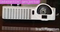 Interactive projector :built-in PC+Speakers+Projector+IWB+Motion Prese