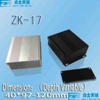 zk series aluminum enclosure metal box shell case
