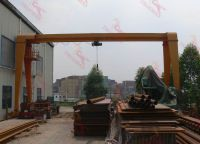 Electric Single Beam Gantry Crane