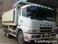 japan made used mistubishi dump truck for sale