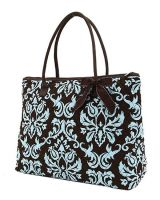 Cotton quilted Monogrammable Large Tote