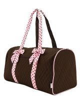 Quilted Mnogrammable Duffle Bag