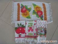 100% cotton  kitchen towel, tea towel