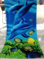 custom cotton beach towel wholesale
