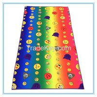 70*140cm microfiber polyester sulimation printed beach towel