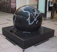 Granite ball fountains