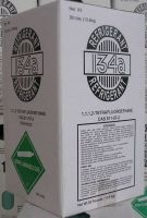 HFC r134a refrigerant gas; 1, 1, 1, 2-Tetrafluoroethane;