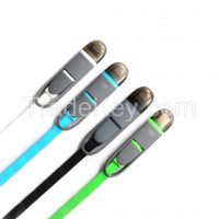 iphone and SAMSUNG 2 in1 cable
