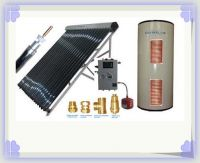 Split Pressurized solar water heaters with Two Heat Exchangers