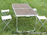 Big Size Aluminum Folding Table