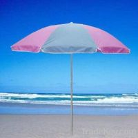 Garden/Beach Umbrella with Metal Frame, Made of 170T Polyester, OEM Or