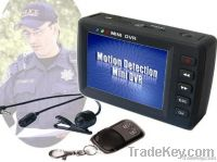 Mini Portable DVR With 2.5inch TFT LCD Screen and Motion Detecte