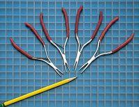 Miniature Pliers + Cutter Pliers + Scissors