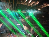 Sky or Large Venue High Power Laser Projection System