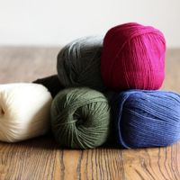 100% Cashmere Yarn, Blended or Pure