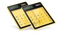 Transparent TouchScreen Calculator