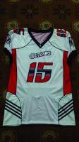 American football uniform..