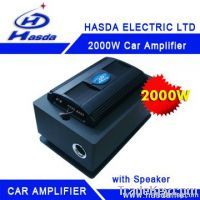 car amplifier with subwoofer 2000W 4Channel