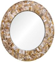 Lacquer Mother of pearl Mirror