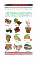 Rattan material, rattan products, lacquer products and other handicraft.