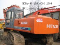 Used Hitachi Excavator EX200-1, EX200-2, EX200-3, EX200-5
