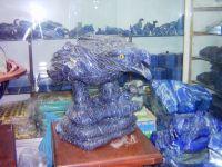 Lapis Lazuli Eagle & Snake