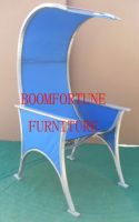 Metal High Back Leisure Chair