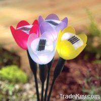 TULIP FLOWER SOLAR GARDEN LIGHT