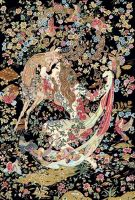 HAND KNOTTED SILK TAPESTRY