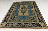 oriental hand knotted pure silk carpets