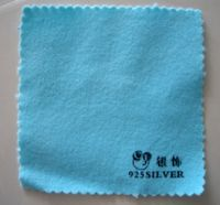siliver polishing cloth/gold polishing cloth