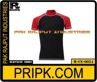 Short Sleeve Compression Shirt (raglan sleeves) with buyers logo