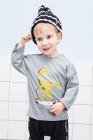 Boutique toddler baby boy tops shirts