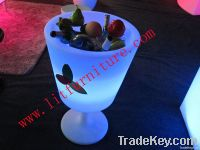 led ice bucket/illuminated ice bucket/led home and bar furniture
