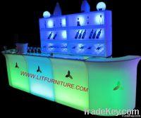 led bar counter/led bar table/led plastic bar furniture