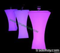led table/led coffee table/led cocktail table/illuminated table