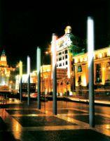 Scenic street lamp
