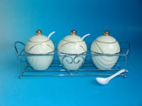 Stoneware Canister Sets
