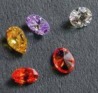 Cubic Zirconia CZ & Synthetic Gems
