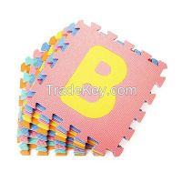 EVA Educational Puzzle Foam Mat Interlocking Alphabet & Number