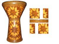 Egyptian Drum ( handmade veneer timber )